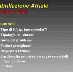 cause della fibrillazione atriale e fattori di rischio